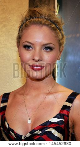 Kaitlin Doubleday at the Los Angeles premiere of 'Waiting' held at the Mann Bruin Theater in Westwood, USA on September 29, 2005.