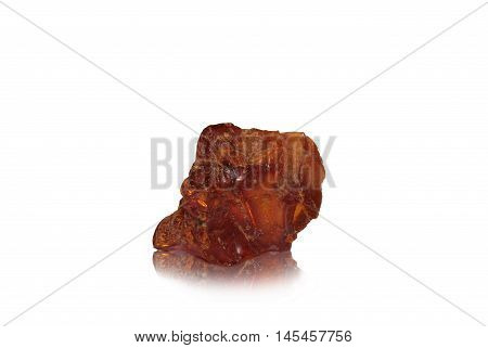 This is a smal ambers nugget with his warm color.