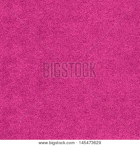 Pink texture with effect paint. Empty surface background with space for text or sign. Quickly easy repaint it in any color. Template in square format. Vector illustration swatch in 8 eps