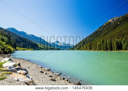Duffey Lake, Duffey Lake Provincial Park, Bc, Canada