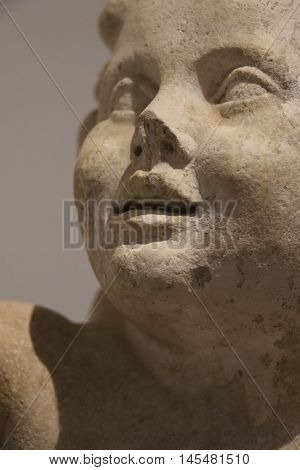 Antique sculpture in the Palatine Museum in Rome