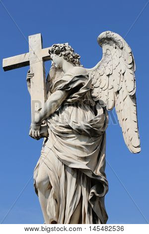 Angel of the Ponte Sant'Angelo in Rome