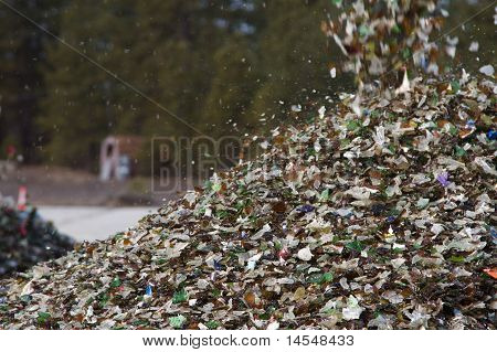 Crushed Glass Recycling