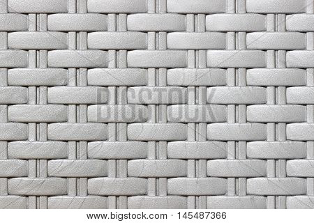 Plastic weave pattern texture and background .