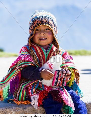 Young Peruvian Boy