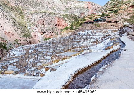 Salt Ponds Of Maras, Peru