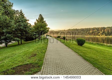 Path By The River