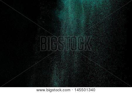 Aquamarine Powder Explosion