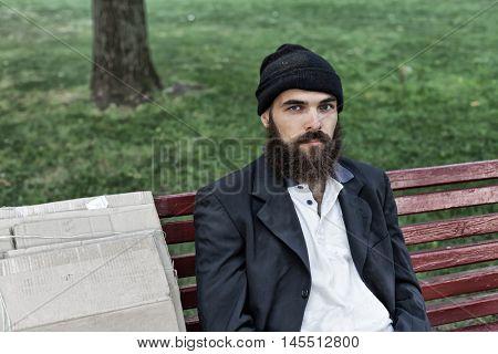 Bearded vagrant