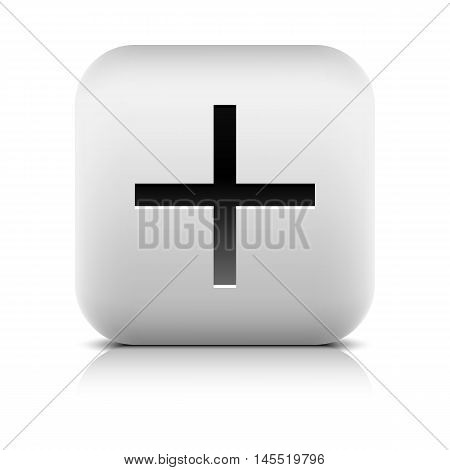 Web Icon With Plus Sign