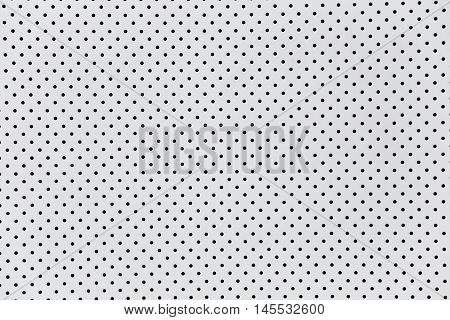 surface of white wall have a hole for the design background.