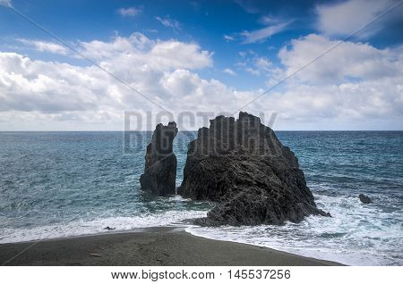 Seascape Of Italy Liguria Coast Travel