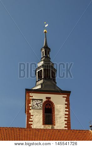 The collegiate church (Stiftskirche) in Roemhild (Thuringia)