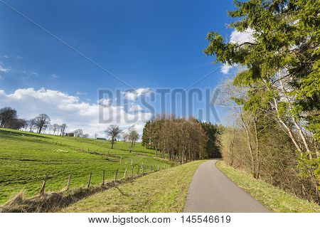 Vennbahnweg Near Monschau, Germany