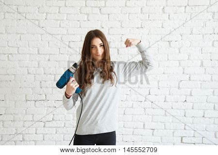 I am strong and I know how to deal with the male tool