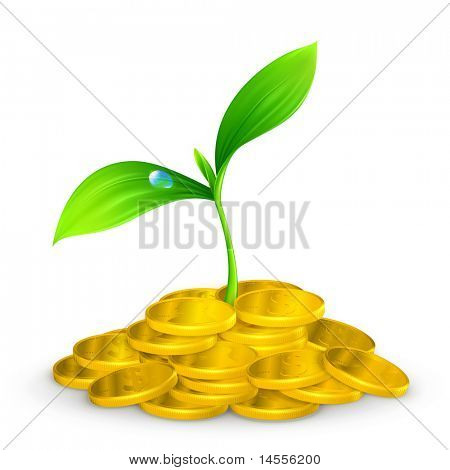 Plant and coins, 10eps