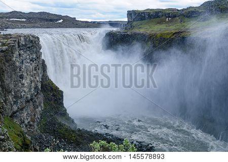 Dettifoss Waterfall, Northeast Iceland