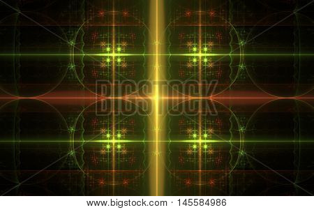 circle and lines fractal pattern back ground
