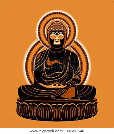 Buddha Amitabha (The Buddha of Infinite Light)