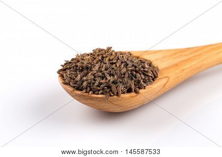 Caraway Seeds In Spoon