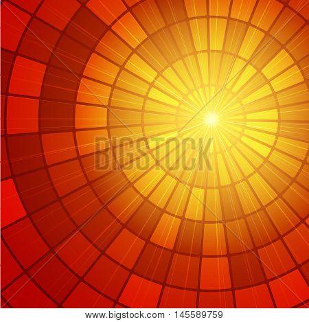 Sun Sunburst Pattern. Vector illustration eps 10
