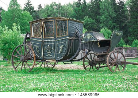 Green Carriage, historic transportation, transport of the kings
