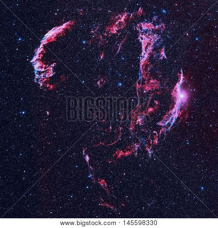 Veil Nebula Is A Supernova Remnant In The Constellation Cygnus