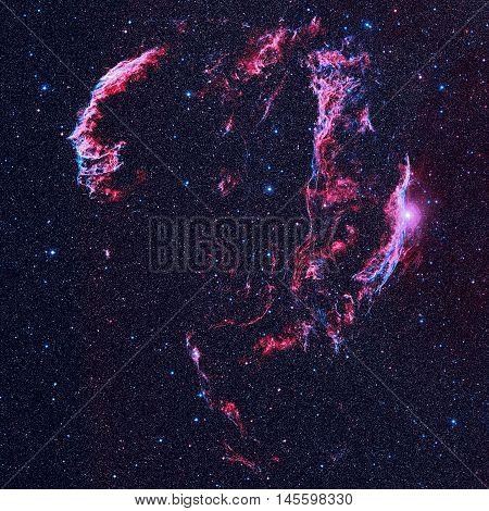 Veil Nebula Is A Supernova Remnant In The Constellation Cygnus