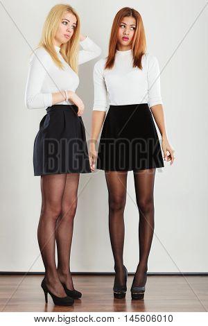 Shot Of Full Length Ladies.