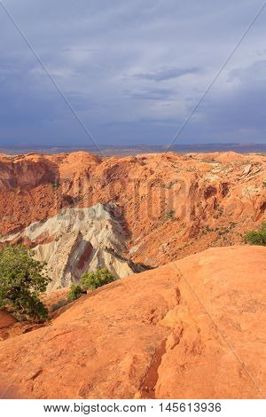 Upheaval Dome At Canyonlands National Park