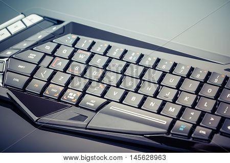 Gaming Keyboard On Black