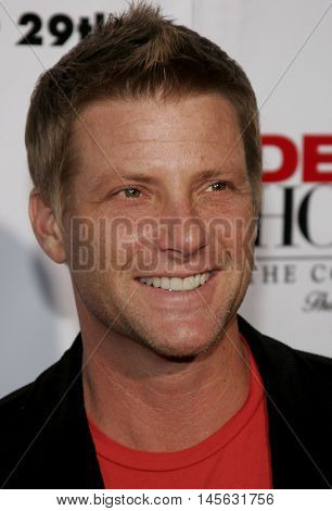Doug Savant at the 'Desperate Housewives: Season 2 - Extra Juicy Edition' DVD Launch Event held at the Wisteria Lane Universal Studios in Universal City, USA on August 5, 2006.