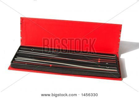 Open Pencil Box