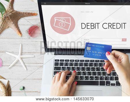 Capitalism Cash Credit Revenue Banking Stock Concept
