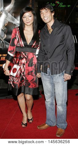Byron Lawson at the Los Angeles premiere of 'Snakes on a Plane' held at the Grauman's Chinese Theatre in Hollywood, USA on August 17, 2006.