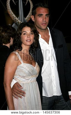 Annabella Sciorra and Bobby Cannavale at the Los Angeles premiere of 'Snakes on a Plane' held at the Grauman's Chinese Theatre in Hollywood, USA on August 17, 2006.