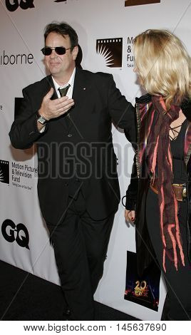 Dan Aykroyd and Donna Dixon at the Los Angeles screening of 'Walk The Line' held at the Academy of Motion Picture Arts & Sciences in Beverly Hills, USA on November 10, 2005.