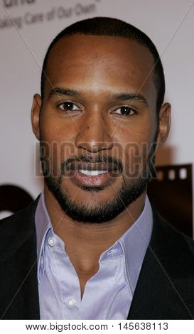 Henry Simmons at the Los Angeles screening of 'Walk The Line' held at the Academy of Motion Picture Arts & Sciences in Beverly Hills, USA on November 10, 2005.