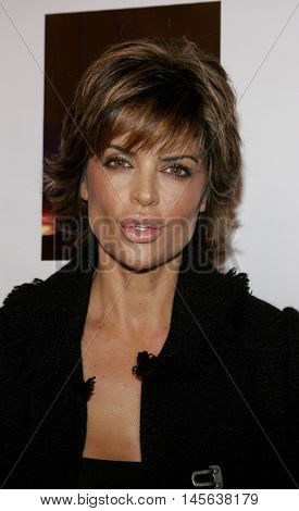Lisa Rinna at the Los Angeles screening of 'Walk The Line' held at the Academy of Motion Picture Arts & Sciences in Beverly Hills, USA on November 10, 2005.