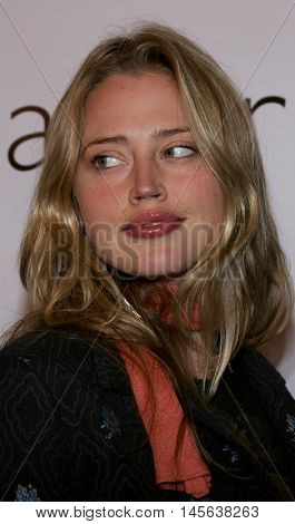 Estella Warren at the Los Angeles screening of 'Walk The Line' held at the Academy of Motion Picture Arts & Sciences in Beverly Hills, USA on November 10, 2005.