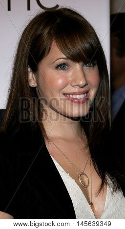 Marla Sokoloff at the Los Angeles screening of 'Walk The Line' held at the Academy of Motion Picture Arts & Sciences in Beverly Hills, USA on November 10, 2005.
