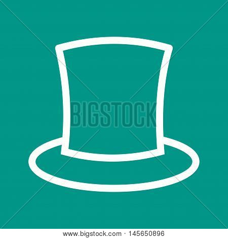 Magician, man, hat icon vector image. Can also be used for birthday. Suitable for web apps, mobile apps and print media.