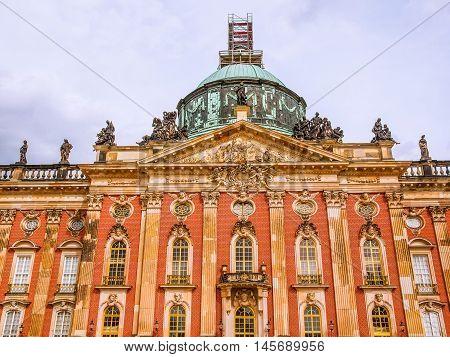 Neues Palais In Potsdam Hdr