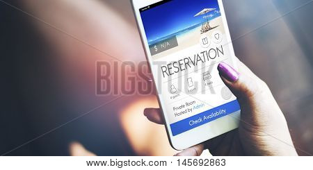 Reservation Service Leisure Fine Booking Seating Concept