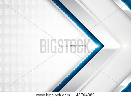 Vector of metallic futuristic background