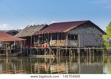 Home in the Gulf of Chanthaburi, The No-Land Village of Bangchan, Thailand