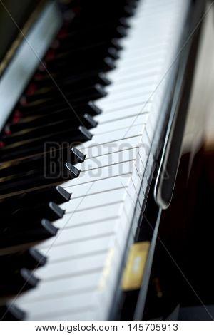 Keyboard Of A Piano
