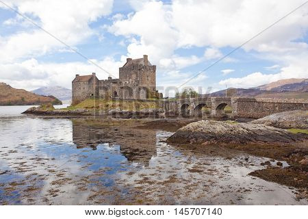 Eilean Donan Castle, Highland Scotland.