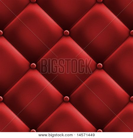 Red Upholstery