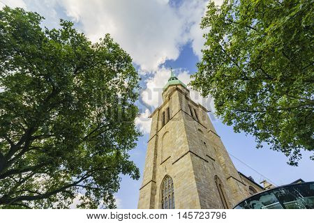 The Famous And Beautiful Church - St. Reinoldi